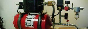 Аэрограф и большой компрессор